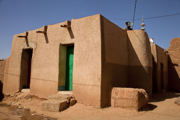 Small mosque in the old town of Agadez | Agadez Old Town | Niger