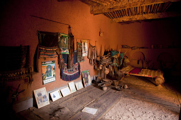 Foto di Room of Heinrich Barth, the first European explorer to reach Agadez in 1850Agadez Old Town - Niger