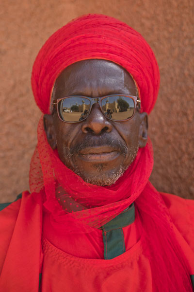 Guard of the Sultan Palace of Zinder | Zinder Sultan Palace | Niger
