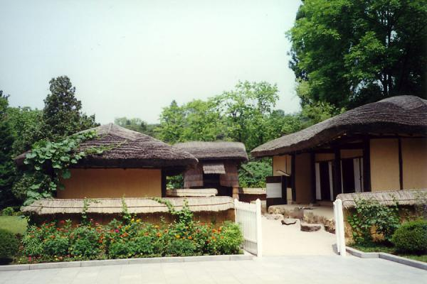 Picture of The native house of Kim Il SungManyongdae - North Korea