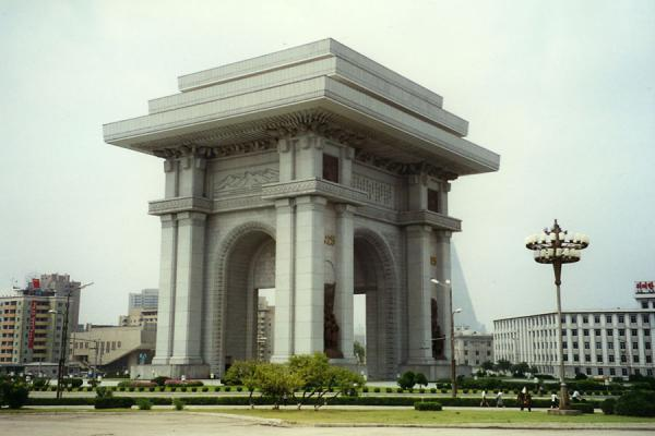 Picture of Arch of Triumph in PyongyangNorth Korea - North Korea