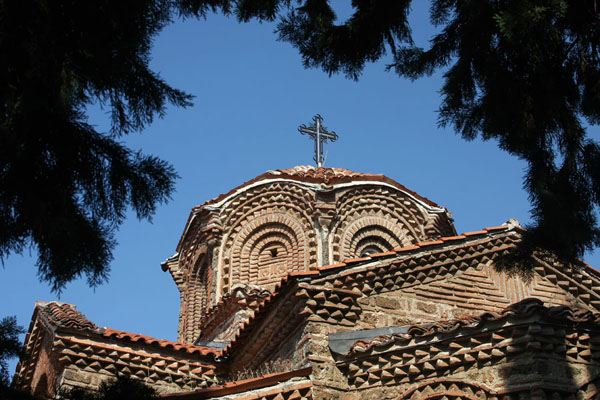 Picture of Cupola of Sveta Bogorodica PerivleptaOhrid - North Macedonia