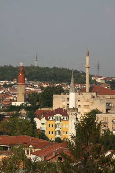 Foto di Street in the old city centre of SkopjeSkopje - Macedonia del Nord