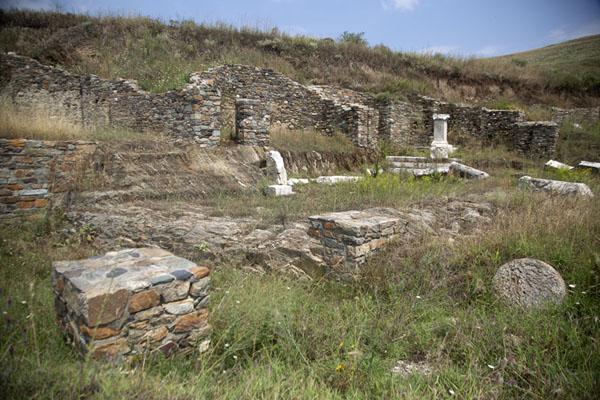 View of the ruins of Stibera | Stibera | North Macedonia