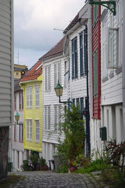 Picture of Alley in Bryggen, Bergen