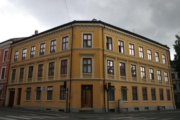 Picture of Grünerløkka: one of the many impressive, renovated houses