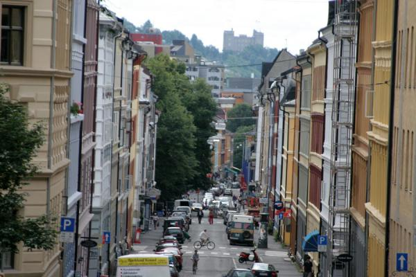 Picture of Grünerløkka: view from the top of Markveien