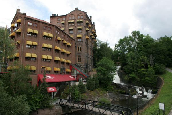 One of the former factories at Akerselva river near Grünerløkka | Grünerløkka | Norway