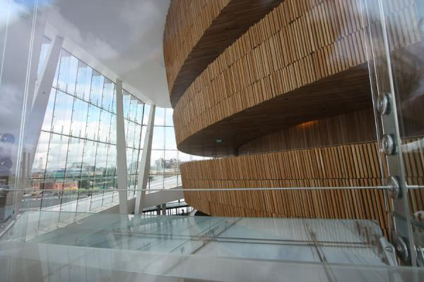 Looking inside the Oslo Opera House | Opéra d\'Oslo | la Norvège