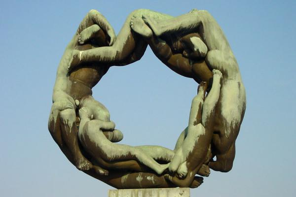 Wheel of life | Vigeland Park | Norway