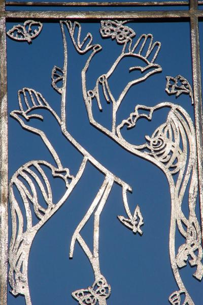 Detail of one of the gates | Vigeland Park | Norway