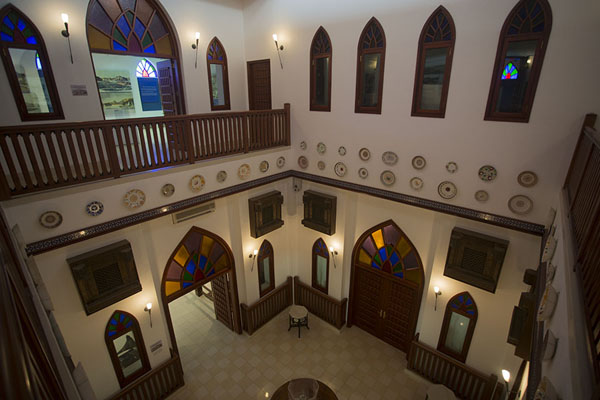 Foto van The interior of Bait al OudMuscat - Oman
