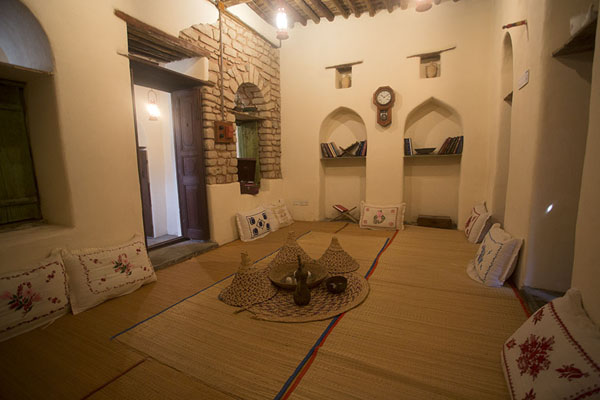 Picture of Najlis, or guest lounge, in Bait al DalaleelMuscat - Oman