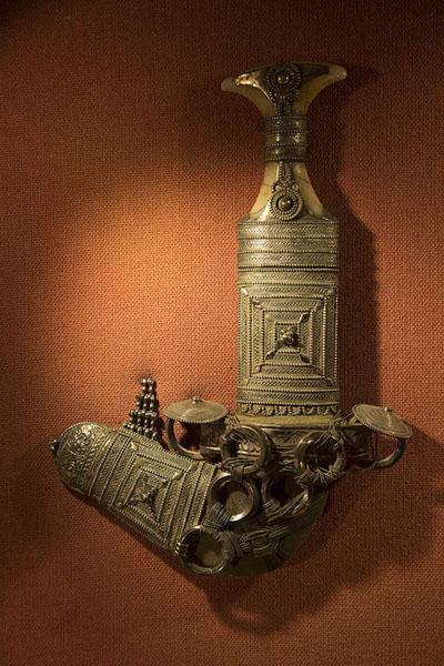的照片 Khanjar, or Omani dagger, in Bait al Zubair museum - 阿曼