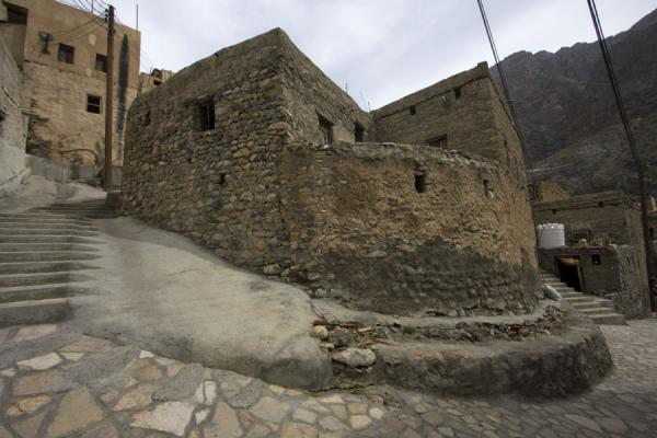 Picture of Street in the old mountain village of Bilad Sayt