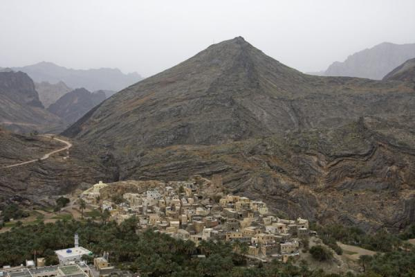 View over Bilad Sayt with mountains | Bilad Sayt | Oman