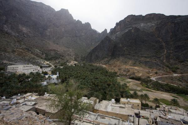 View over Bilad Sayt from next to the watchtower | Bilad Sayt | Oman