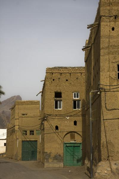Several houses in the old town of Hamra | Hamra Old Town | Oman