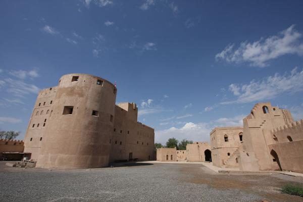 Picture of Jabrin Castle (Oman): Courtyard of Jabrin Castle