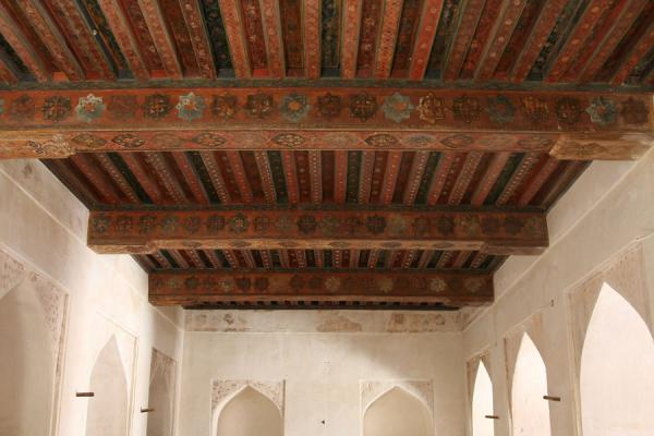 Inside a room in Jabrin Castle | Jabrin Castle | Oman