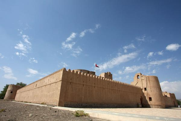 Picture of Jabrin Castle (Oman): Overview of Jabrin Castle