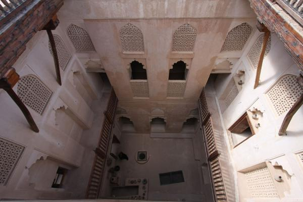 Picture of Jabrin Castle (Oman): Interior of Jabrin Castle seen from above