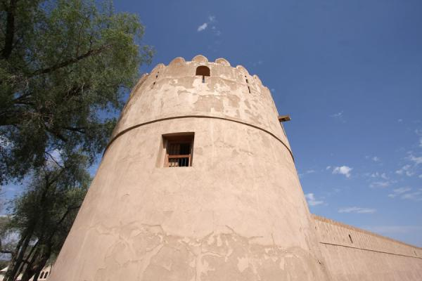 One of the defensive towers of Jabrin Castle | Jabrin Castle | Oman