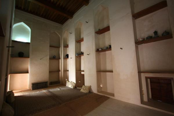Picture of Jabrin Castle (Oman): Functional room in Jabrin Castle
