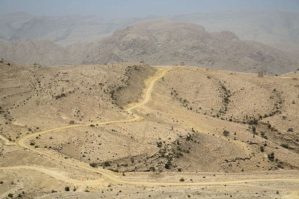 Track with beehive tombs | Jaylah beehive tombs | Oman