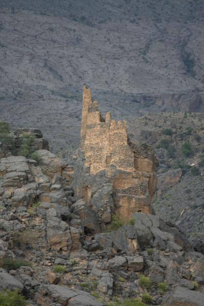 Watchtower outside Misfat | Misfat | Oman