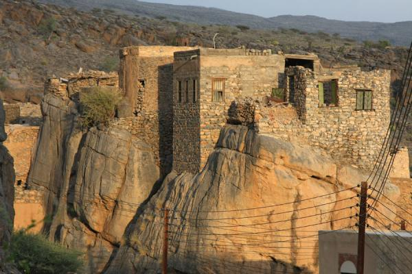 Daring architecture: building on rocks | Misfat | Oman