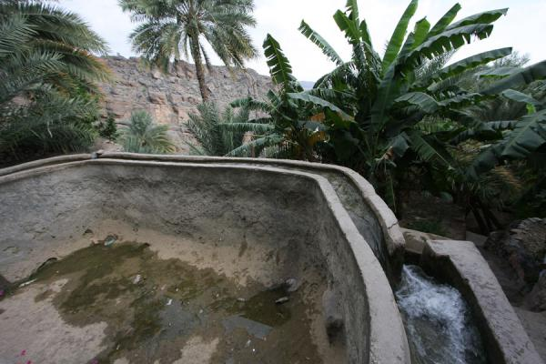 Irrigation system outside Misfat | Misfat | Oman