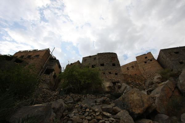 Houses on top of rocks in Misfat | Misfat | Oman