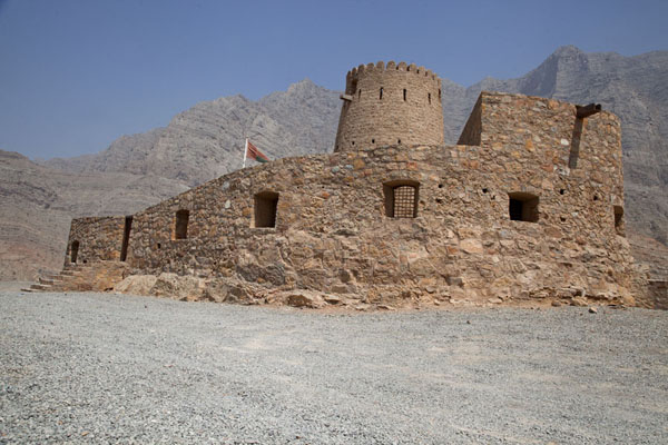 The small fort of Bukha, on the western coast of Musandam peninsula | Musandam Coastline | Oman