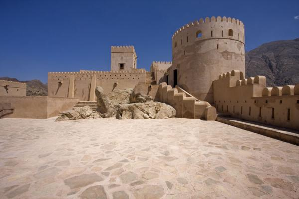 Picture of Nakhal Fort (Oman): Courtyard in Nakhal Fort