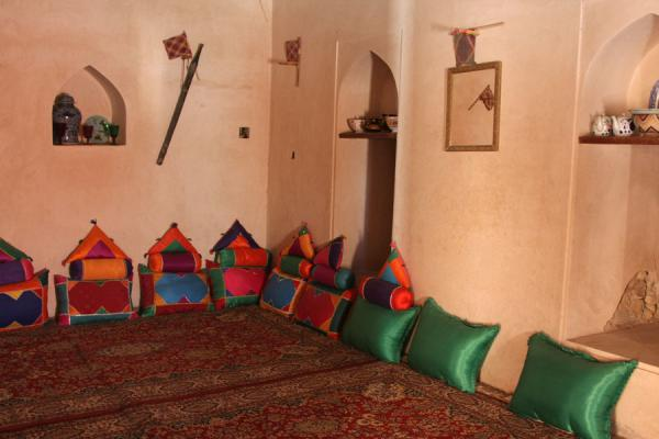 Interior of one of the rooms of Qurayat Castle | Qurayat | Oman