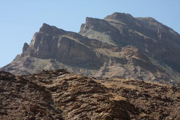 Rugged mountain top in Wadi Mayh | Wadi Mayh | Oman