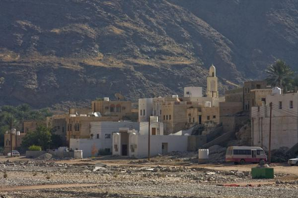 One of the small villages in the wadi | Wadi Mayh | Oman