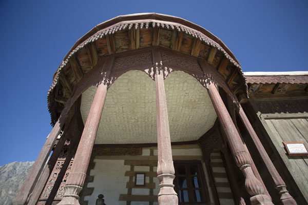 Photo de Roof with columns covering the throne of the ruler - Pakistan - Asie