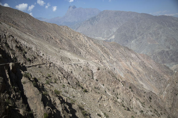 Picture of Much of the length of the jeep track can be seen hereTato - Pakistan