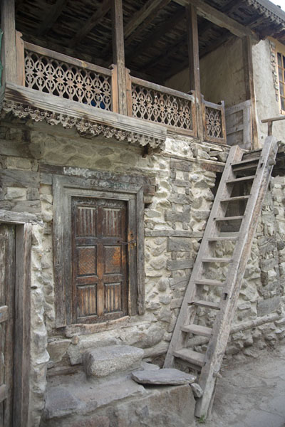 Foto de Caravanserai in the old town of Ganish - Pakistan - Asia