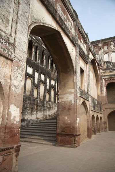The start of Elephant Stairs, or Hathi Paer | Lahore Fort | Pakistan