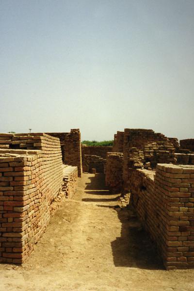 Picture of A sidestreetMoenjodaro - Pakistan