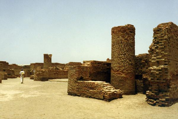 Photo de Pakistan (Moenjodaro ruins)