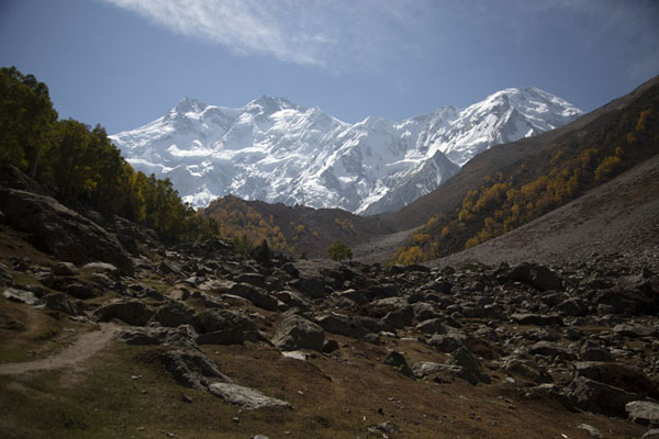 Foto de Nanga Parbat seen from Behal campsiteCampo Base Nanga Parbat - Pakistan
