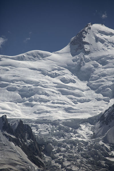 Foto di Close-up of the east side of the Nanga Parbat rangeCampo Base Nanga Parbat - Pakistan