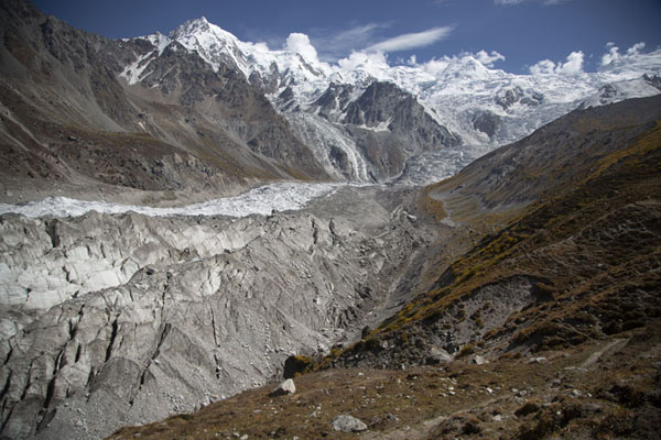 Raikhot glacier with Chongra Peak in the background | Nanga Parbat Base Camp | 巴基斯坦