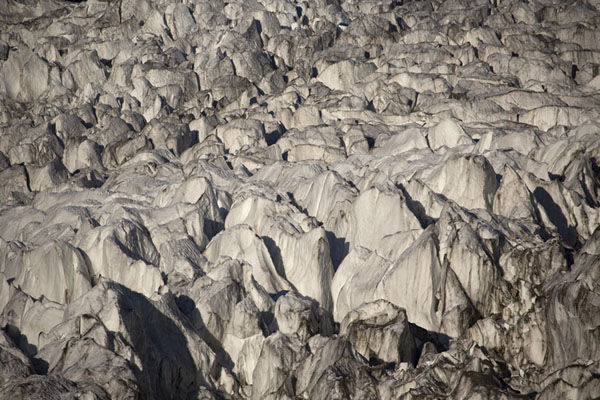 Close-up of massive Passu Glacier | Patundas | Pakistan
