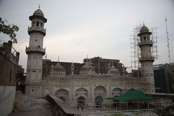 Mahabat Khan mosque in the old city of Peshawar | Peshawar old city | 巴基斯坦