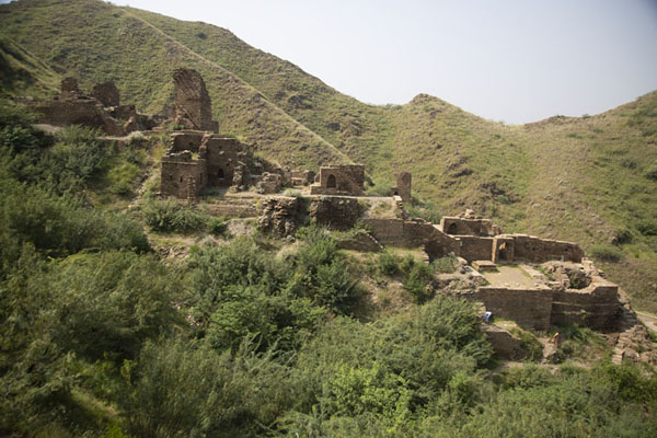 Ruins to the west of Takht-i-Bahi Buddhist monastery complex | Takht-i-Bahi | Pakistan
